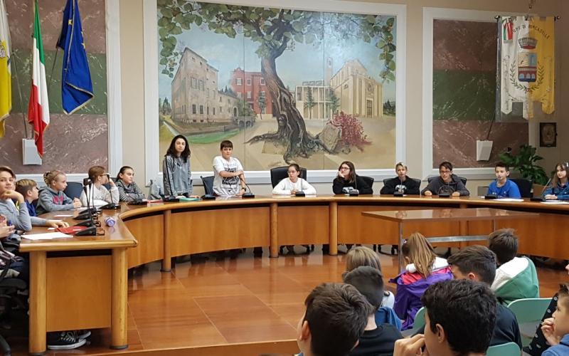 CONSIGLIO COMUNALE DEI RAGAZZI 2017/2018