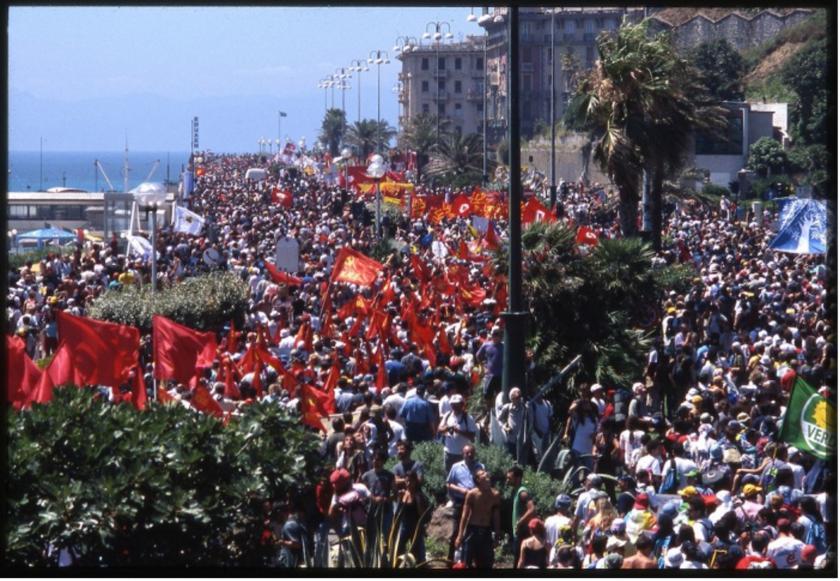 Genova 2001 - 2021, un altro mondo è necessario.