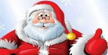 BABBO NATALE INCONTRA I BAMBINI ON LINE