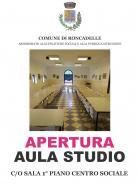 APERTURA AULA STUDIO