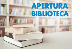 DAL 19 MAGGIO RIAPERTURA DELLA BIBLIOTECA CIVICA