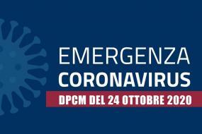COVID-19 | DPCM 24/10/2020